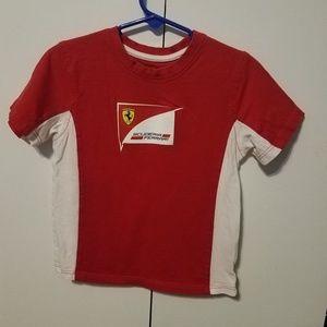 Ferrari toddler shirt